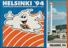 Finland Postcard 1994 Athletics European Championship In Helsinki - Mint (G128-22) - Atletica