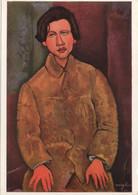 Amedeo Modigliani (1884-1920) : Portrait De Soutine - Peintures & Tableaux