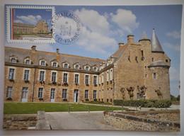 Carte Maximum CHATEAUGIRON , Série Mairies De France - Sin Clasificación