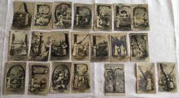 Lot De 21 Cartes -thème Alphabet Incomplet -644 - 5 - 99 Postales