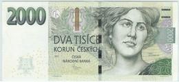 ♛ CZECH REPUBLIC - 2.000 Korun 2007 {Česká Národní Banka} UNC P.26 A - Czech Republic