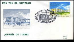 2404 - FDC - Dag Van De Postzegel  #1  P969 - 1991-00