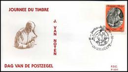 2451 - FDC - Dag Van De Postzegel  #4  P1011 - 1991-00