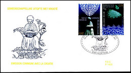 3093/94 - FDC - Kantwerk - Gemeensch. Uitgifte Met Kroati? #1 P1 - 2001-10