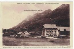 CPA   AILLON Le JEUNE  Hotel Du Soleil - Autres Communes