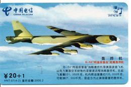 Armée Army Avion Jet  Télécarte Telefonkarte Phonecard Chine (D.588) - Army