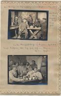 St Souplet _ St Hilaire-le-Petit : 2 Pgs  7 Photos Scènes Allemandes Suite Et Fin : Guerre 14-18 En Champagne - Autres Communes