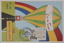 76-Montivilliers Festival L'air Du Temps 1988 - Bolli Commemorativi