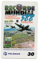 Record Mondial Armée Army Télécarte Telefonkarte Phonecard Brésil (D.591) - Army