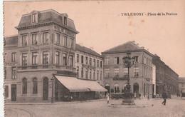 Tienen - Stationsplaats - Hôtel - Uitg. Saia Brussel - Kaart Uit Een Boekje - Tienen