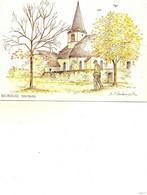Montbard..aquarelle De M.f.carbonnelle - Autres Communes