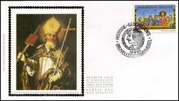 2491 - FDC Zijde - Geschiedenis  #1 - 1991-00