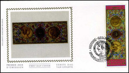 2492 - FDC Zijde - Geschiedenis  #4 - 1991-00