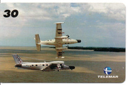3ème Escadron Armée Armyavion Jet Télécarte Telefonkarte Phonecard Brésil (D.593) - Army