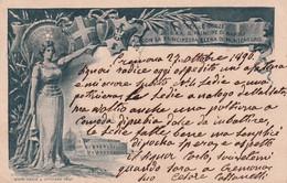 ITALIE 1896    ENTIER POSTAL/GANZSACHE/POSTAL STATIONARY CARTE ILLUSTREE DE CREMONA - Interi Postali