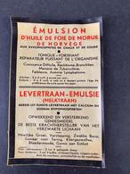 Etiquette Emulsion De Foie De Morue De Norvège - Zonder Classificatie