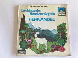 LA CHEVRE DE MONSIEUR SEGUIN Par FERNANDEL - 45t - 1967 - Bambini