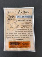 Etiquette Emulsion D Huile De  Foie De Morue  W Moyens Jette St Pierre - Andere