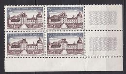 N° 1128 Série Touristique: Château De Valençay : Beau Bloc De 4 Timbres Neuf Impeccable - Ongebruikt