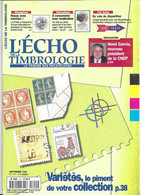 L ECHO DE LA TIMBROLOGIE - LES VARIETES, ETIQUETTES PAR AVION, TONGA ACHEMINEMENT PAR BOITES DE CONSERVES, VIGNES ET VIN - Francesi (dal 1941))
