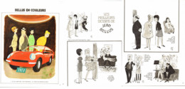 """"""" BELLUS COLOR """" + """" Les MEILLEURS DESSINS De BELLUS """" 1973  ( 10) - Sonstige"""