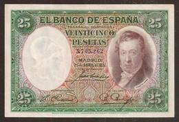 SPAIN. España. 25 Pesetas 1931. Pick 81. - Sin Clasificación