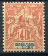 !!! SENEGAMBIE ET NIGER, N°10 NEUF ** - Unused Stamps