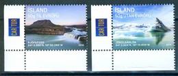 Iceland 2016 Tourism 2v  MNH - Ungebraucht