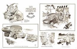"""""""  JEAN BELLUS  """" Les MEILLEURS DESSINS De  BELLUS 1973  ( 3 ) - Sonstige"""
