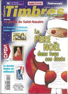 TIMBRES MAGAZINE - POCHE DE SAINT NAZAIRE, LA CORSE, NOUVELLE CALEDONIE, LE PERE NOEL, LES PRESIDENTS DES ETATS UNIS.... - Francesi (dal 1941))