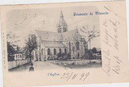 Vilvoorde - Kerk (kaart Voor 1900, Verstuurd In 1899 Met Zegel) - Vilvoorde