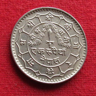 Nepal 1 Rupee 1977 #2 Wºº - Nepal