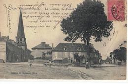 CPA    VALLON En SULLY   Le Clocher, Le Foirail  N° 152 - Sonstige Gemeinden