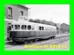 AL 500 - Autorail Michelin Type 14 En Gare - SAINT-AUBIN SUR MER - Calvados  - CM - Saint Aubin