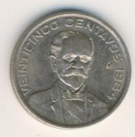 MEXICO 1964: 25 Centavos, KM 444 - Mexico