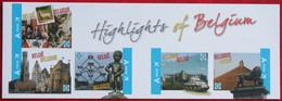 Highlights Of Belgium OBC 4098-4102 B119 (Mi 4144-4148) 2011 POSTFRIS MNH ** BELGIE BELGIEN / BELGIUM - Ungebraucht