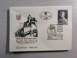 1969 FDC Ausstellung Maximilian I Innsbruck MiNr: 1302 - FDC