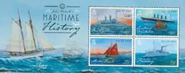 MAN - 2015 - Histoire Maritime-tableaux - Bloc - Isla De Man