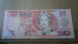 Fiji 50 Dollar 1996 P 100 100%#UNC# - Fiji
