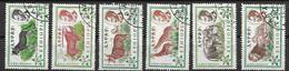 Ethiopia VFU Animals Set 1961 5 Euros - Ethiopia