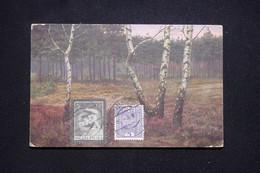 POLOGNE - Affranchissement De Krasnosielc Sur Carte Postale En 1935 Pour La France - L 94033 - Covers & Documents