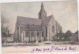 Vilvoorde - Kerk (gekleurde En Niet Gelopen Kaart Van Voor 1900) - Vilvoorde