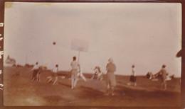 Photo De Particulier Finistère Le Pouldu Une Partie De Basket 1922   Réf 3818 - Le Pouldu