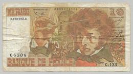 France - 10 Francs Berlioz 3-10-1974 1 Billet - 10 F 1972-1978 ''Berlioz''