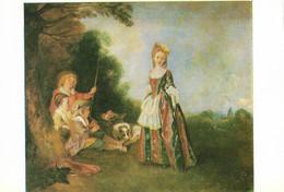 Antoine Watteau - Der Tanz - Schilderijen