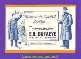 BUVARD :  Vetements  ER BUTAEYE   DUNKERQUE - Textile & Clothing