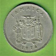 JAMAÏQUE / TWENTY CENTS / 1976 - Jamaica