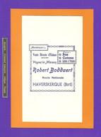 BUVARD : Vente Directe D'Usines  Robert BODDAERT  HAVERSKERQUE - Textile & Clothing