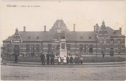 Vilvoorde - Stationsplein  (niet Gelopen Kaart Van Voor 1900) - Vilvoorde