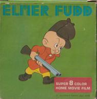Elmer Fudd Super 8 Mm Home Movie Film EF 352 Accidenti Alla Gente , Spoel 60 Mtr - 35mm -16mm - 9,5+8+S8mm Film Rolls